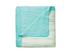 aden + anais Bamboo Dream Blanket (Azure Beads)