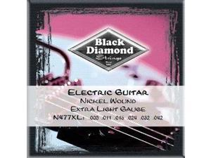 Black Diamond Extra Light Nickel Electric Guitar Strings N477XL