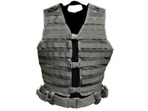 VISM by NcStar Molle/Pals Vest/Digital Camo Acu (CPV2915T) CPV2915D NC STAR