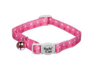 "Fashionable Safe Cat Collar - 3/8"" - Pink Dots C670112PDT COASTAL PET PRODUCTS INC"