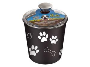 Loving Pets Bella Dog Bowl Canister/Treat Container LP7481