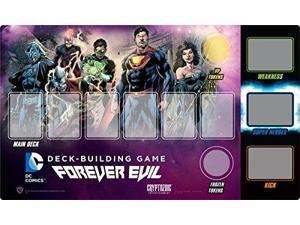 DC Comics Deck-building Game Playmat : Forever Evil CTZ01919 Cryptozoic Entertainment