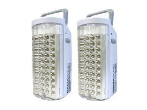 Gama Sonic DLG2-713LS Rechargeable 40-LED Lantern, Set of 2
