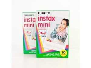 Fujifilm Instax Mini Instant Film 2 Packs, 40 Prints, for 8, 7S,25,50S Camera