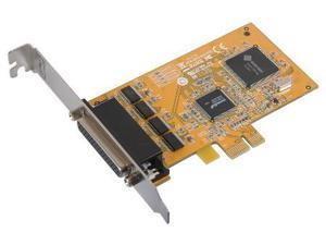 Four Port PCI-Express Serial RS-232 Expansion Card