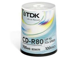 CD-R 80 min 100 Pack