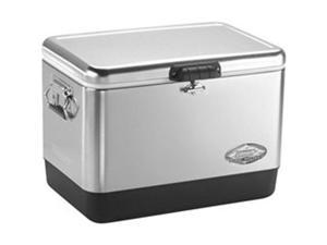 6155B700B 54-Quart Stainless Steel Belted® Cooler