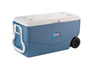 6201A748 100-Quart Blue Xtreme® 5-Day Wheeled Cooler