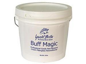 COMPOUND POLISH BUFF MAG IC (WHITE) 1GAL YACHT BR