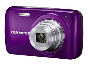VH-210 14-Megapixel 5x Wide Optical Zoom 3-inch LCD Display - Grape Purple