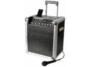 Portable PA System with iPod Dock and Microphone