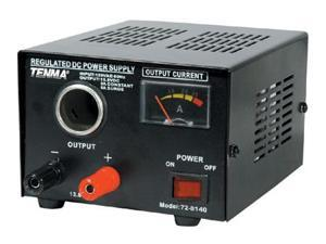 Regulated 13.8VDC Power Supply - 3A Continuous