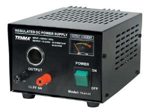 Regulated 13.8VDC Power Supply - 6A Continuous