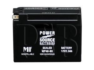 Power Source Battery WP4B-BS (YT4B-BS Replacment) Sealed Battery 01-312 - 1 Year Manufacturer Warranty!