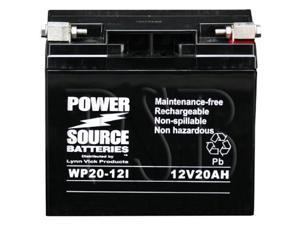 Power Source Batteries WP20-12I (BMW 51913 Replacement) Sealed Maintenance Free Battery 01-356 - 1 Year Manufacturer Warranty!