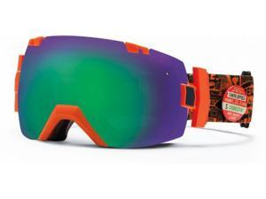 Smith Optics Vaporator Series I/OX Snow/Ski Goggles - Orange W3 with Green Sol-X Lens