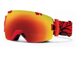Smith Optics Vaporator Series I/OX Snow/Ski Goggles - Xavier Charger with Red Sol-X Lens