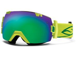 Smith Optics Vaporator Series I/OX Snow/Ski Goggles - Lime with Green Sol-X Lens