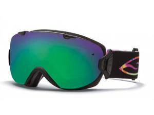 Smith Optics Vaporator Series I/OS Snow/Ski Goggles - Facemelter with Green Sol-X Lens