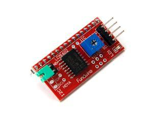 IIC I2C Serial Interface Board Module LCD 1602 Address Changeable 1602LCD Display IIC/I2C/TWI/SP??I Serial Interface Board ...
