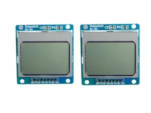 2Pcs 1.6 Inch LCD Module SCM Development With Backlight For Nokia 5110
