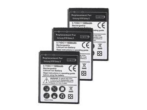 3x1650mAh Li-ion Battery Replacement For Samsung Galaxy S2 II i9100 i777