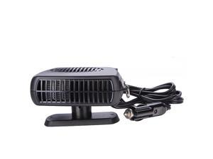 2-in-1 Portable Ceramic 12V Car Defroster Demister