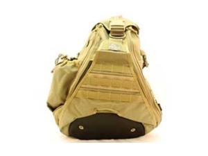 "Maxpedition 0410K PALS Soft Khaki Monsoon Gearslinger Backpack 18""X15""X6"""