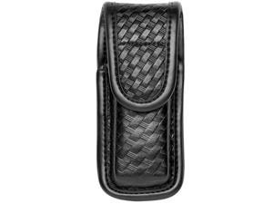 Bianchi AccuMold Elite 22934 Basketweave Leather Single Magazine/Knife Pouch