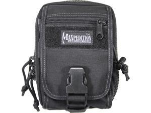 "Maxpedition 0315B M 5 Waistpack Black Measures 7"" X 5"" X 2 1/2 Full Opening Ma"