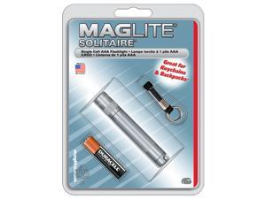 MagLite Solitaire Blister Pack, Grey