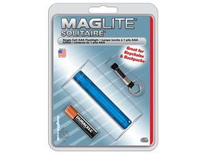 MagLite AAA Solitaire Flashlight, Blister, Royal Blue