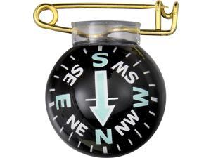 "Silva SV01222 Fisheye Pin On Compass Measures Approximately 1"" In Diameter Fish"