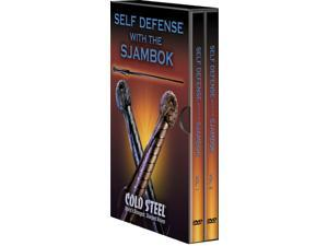 Cold Steel CSCSVDFSK Dvd Self Defense W/ Sjambok Lynn Thompson President Of Cold