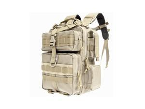 "Maxpedition Typhoon Backpack Khaki Soft 13""x9.5""x4.5""  Drag Handle Design 0529K"