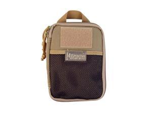 "Maxpedition E.D.C. Pocket Organizer Gear Bag Khaki Soft 5""x7""x0.75"" 0246K"