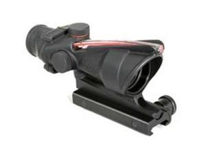 Trijicon ACOG Rifle Scope 4X 32 Red Horseshoe 6.8 Matte With TA51 TA31H-68