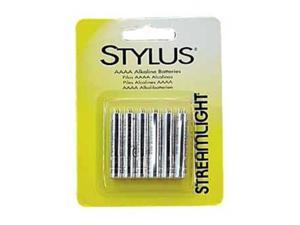 Streamlight 65030 Stylus Battery AAAA 6 Pack - Black