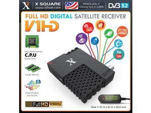 X2 V1 Mini HD DVB-S2 (FTA) Free To Air Only with IPTV Hybrid Satellite Receiver & PVR, YouTube, Online Update, USB WiFi - New Version