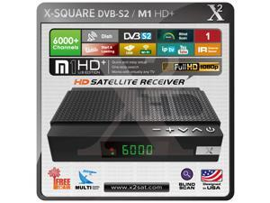 "X2 M1 HD DVB-S2 (FTA) Free To Air with IPTV Mini Hybrid Satellite Receiver ""PVR, USB, WiFi, YouTube"" Full HD""- New Edition"
