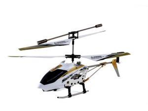 Syma 3 Channel S107 / S107G Mini Indoor Metal Frame Helicopter - White Color