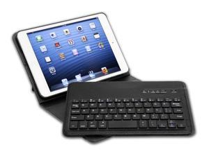 Tenergy Bluetooth Keyboard Case with Detachable Keyboard Stand for iPad mini (Black)