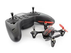 Hubsan X4 (H107C) 4 Channel 2.4GHz RC Quad Copter with Camera - Black/Red