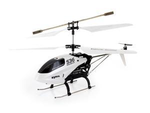 Syma S36 3 Channel 2.4GHz RC Helicopter w/ Gyro (Color May Vary- Black or White)