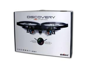 UDI U818A-1 2.4GHz 4 CH 6 Axis Gyro RC Quadcopter w/ HD Video Camera & Extra Battery Included