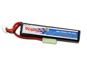 Tenergy 11.1V 1000mAh Li-Po Airsoft Stick Battery Pack