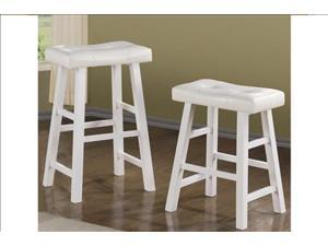 "Sophia's Galleria Classic Whilte 29"" Barstool, Set of 2"