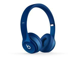 Beats MHNM2AM/A Solo2 Wireless Bluetooth On-Ear Headphones - Blue