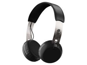 Skullcandy Grind Wireless Black/Chrome Bluetooth On-ear Headphones (S5GBW-J539)