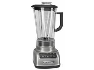 KitchenAid KSB1575CU Contour Silver 60 oz. Jar Size Diamond Blender 5 speeds